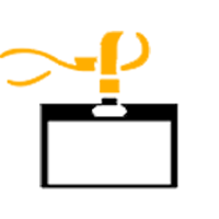Onsite identification - Branded lanyard
